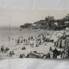 Postales: SANTANDER 43. PLAYA DE LA MAGDALENA Y HOTEL REAL. DANIEL ARBONES. 1960. CIRCULADA. Lote 151699262