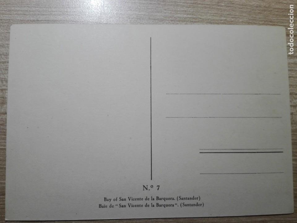 Postales: POSTAL BAHIA DE SAN VICENTE DE LA BARQUERA SANTANDER Nº7 NUEVA SIN CIRCULAR - Foto 2 - 152683482