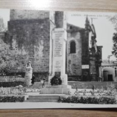 Postales: POSTAL DE LIMPIAS SANTANDER, N.26, MONUMENTO A LOS CAIDOS-FOTO MARUGAN. Lote 152686670