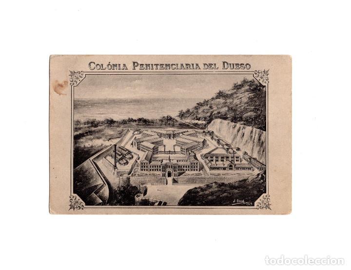 COLONIA PENITENCIARIA DEL DUESO. (Postales - España - Cantabria Antigua (hasta 1.939))