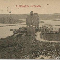 Postais: SUANCES -EL CASTILLO- AÑO 1918. Lote 153750218