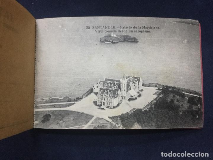 Postales: BLOC POSTAL RECUERDO DE SANTANDER Y DEL SARDINERO 17 POSTALES - Foto 3 - 154761994