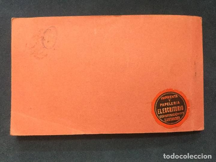 Postales: BLOC POSTAL RECUERDO DE SANTANDER Y DEL SARDINERO 17 POSTALES - Foto 4 - 154761994