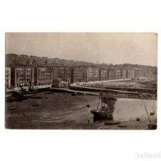 Postales: SANTANDER.(CANTABRIA).- MUELLE Y PUERTO 1887. POSTAL FOTOGRÁFICA. Lote 154906058