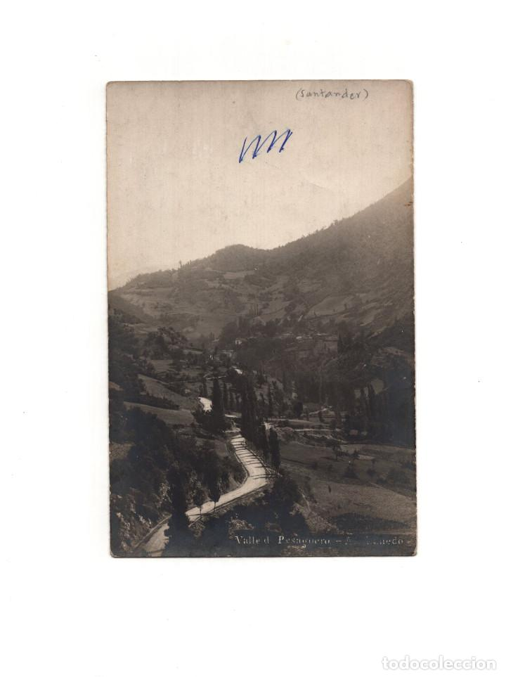 SANTANDER.(CANTABRIA).- VALLE PESAGUERO. POSTAL FOTOGRÁFICA (Postales - España - Cantabria Antigua (hasta 1.939))