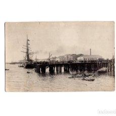 Postales: SANTANDER.(CANTABRIA).- EXPLOSIÓN DEL VAPOR CABO MACHICHACO MARZO 1894. POSTAL FOTOGRÁFICA.. Lote 154917242