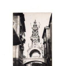 Postais: SANTANDER.(CANTABRIA).- PUENTE VARGAS. VISITA REYES 1900. POSTAL FOTOGRÁFICA.. Lote 154918790