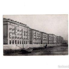 Postales: SANTANDER.(CANTABRIA).-MUELLE CALDERON EN SECO. 1875. POSTAL FOTOGRÁFICA.. Lote 154925666