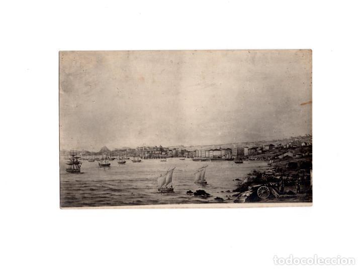 SANTANDER.(CANTABRIA).- AÑO 1838. FOTO SANTIAGO TOCA. POSTAL FOTOGRÁFICA. (Postales - España - Cantabria Antigua (hasta 1.939))