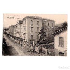 Postales: ONTANEDA.(CANTABRIA).- HOTEL DE LOS BAÑOS. Lote 155180734