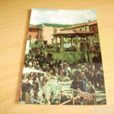 Postales: POTES-CANTABRIA- DIA DE MERCADO. Lote 155376782