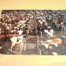 Postales: TORRELAVEGA - CANTABRIA- MERCADO DE GANADOS. Lote 155377078