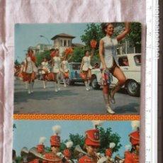 Postales: TARJETA POSTAL DE LAREDO EN FIESTAS BATALLA DE LAS FLORES CANTABRIA FIESTA POPULAR FOLKLORE AUFER. Lote 155411890