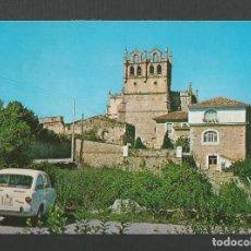 Postales: POSTAL SIN CIRCULAR - SAN VICENTE DE LA BARQUERA 106 SANTANDER - IGLESIA SANTA MARIA - EDITA CASTRO. Lote 155877262