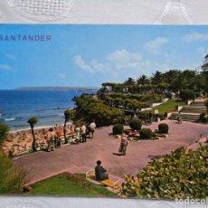 Postales: 153- SANTANDER JARDINES DE PIQUÍO. EDICIONES ARRIBAS, ZARAGOZA. SIN CIRCULAR.. Lote 155967470