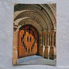 Postales: 7- MONASTERIO DE SANTO TORIBIO. PUERTA DEL PERDÓN. SIN CIRCULAR.. Lote 155970682