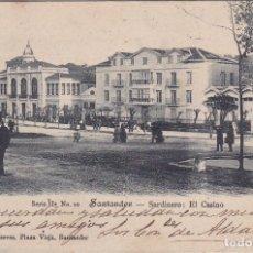 Postales: SANTANDER - SARDINERO - EL CASINO. Lote 157801790