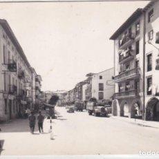 Postales: SAN VICENTE DE LA BARQUERA (CANTABRIA) - AVENIDA DEL GENERALISIMO. Lote 157802278