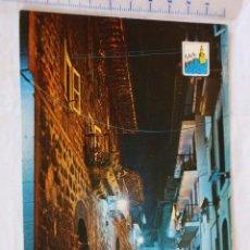 Postales: 30 LAREDO CALLE TIPICA FOTO CARMELO CIRCULADA 1977 SEAT 850. Lote 158817482