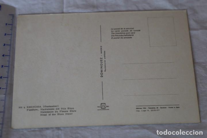 Postales: 4 REINOSA-FONTIBRE SANTANDER-NACIMIENTO DEL RIO EBRO-DOMINGUEZ-ESCUDO DE ORO EXCURSION-NUEVA - Foto 2 - 158948022