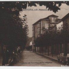 Postales: POSTAL SANTOÑA P MANZANEDO PROPIEDAD DE GONZALEZ HNOS FGFOS. Lote 162562882