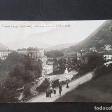 Postales: PUENTE VIESGO CANTABRIA VISTA PANORAMICA DEL BALNEARIO. Lote 165656802