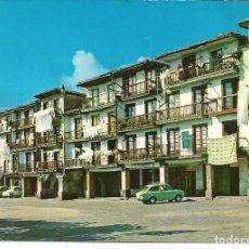 Postales: POSTAL SAN VICENTE DE LA BARQUERA - PLAZA MAYOR - ALARDE 1969. Lote 165674898