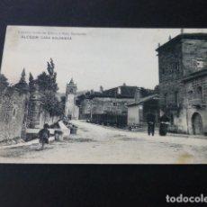 Postales: ALCEDA CANTABRIA CASA SOLARIEGA. Lote 165945694