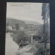 Postales: LIERGANES CANTABRIA PAISAJE. Lote 166132238