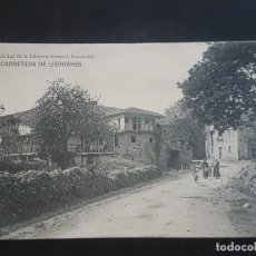 Postales: LIERGANES CANTABRIA CARRETERA . Lote 166132242