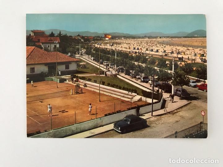 LAREDO (CANTABRIA) POSTAL NO. 2008, TENIS, CLUB Y PLAYA. EDITA: ED. ARRIBAS (A.1962) CIRCULADA.. (Postales - España - Cantabria Moderna (desde 1.940))