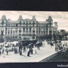 Postales: ANTIGUA POSTAL DE SANTANDER SARDINERO EL GRAN HOTEL TRANVIA FUERTES BUEN ESTADO SIN CIRCULAR. Lote 166946136