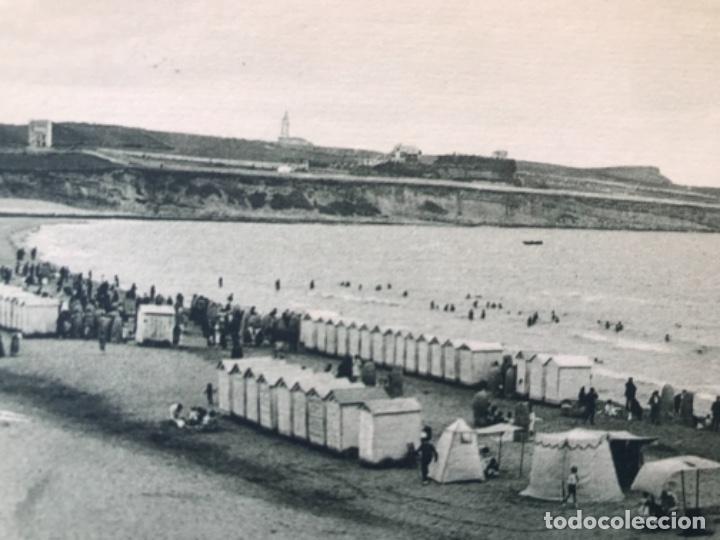 Postales: antigua postal de santander Sardinero playa segunda A .fuertes buen estado sin circular - Foto 2 - 166946484
