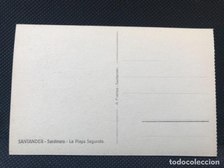 Postales: antigua postal de santander Sardinero playa segunda A .fuertes buen estado sin circular - Foto 3 - 166946484