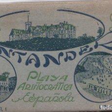 Postales: SANTANDER (CANTABRIA) - PLAYA ARISTOCRATICA ESPAÑOLA. Lote 167185892