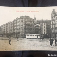 Postales: ANTIGUA POSTAL DE SANTANDER CALLE DE MENDEZ NUÑEZ FOTPIA CASTAÑEIRA ALVAREZ. Lote 164827038