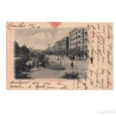 Postales: SANTANDER.(CANTABRIA).- RECUERDO DE SANTANDER, JARDINES DEL BOULEVARD, SERIE II A NO. 10, DUOMARCO. Lote 168098440