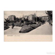 Postales: SANTANDER.(CANTABRIA).- PLAZA DE VELARDE.. Lote 168106092