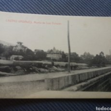 Postales: CASTRO URDIALES CANTABRIA MUELLE LUIS OCHARAN SALVARY THOMAS. Lote 168457772