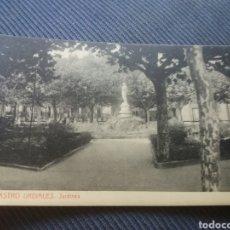 Postales: CASTRO URDIALES CANTABRIA JARDINES SALVARY THOMAS. Lote 168457916