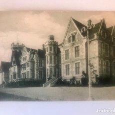 Postales: SANTANDER ANTIGUA POSTAL PALACIO REAL DE LA MAGDALENA A FUERTES SIN CIRCULAR . Lote 169246644
