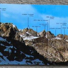 Cartes Postales: PICOS DE EUROPA - LOS PICOS DE CORVIÓN DESDE LA HORCADA DE PAMBUCHES - GRAN FORMATO - MONTAÑISMO. Lote 169613292