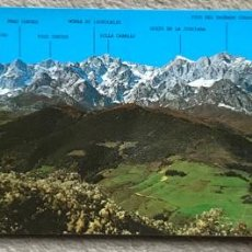 Cartes Postales: PICOS DE EUROPA - PANORÁMICA DEL MACIZO ORIENTAL DESDE SANTO TORIBIO DE LIEBANA - MONTAÑISMO. Lote 169614076