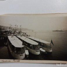 Postales: SANTANDER-BARCOS-PUERTO-POSTAL PROTOTIPO ARCHIVO FOTOGRAFICO ROISIN-FOTO PEGADA-(61.067). Lote 169927256