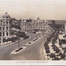 Postales: SANTANDER (CANTABRIA) - SARDINERO CASINO Y GRAN HOTEL. Lote 170028696