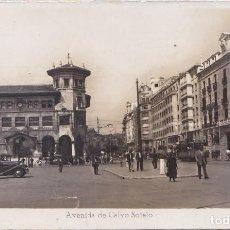 Postales: SANTANDER (CANTABRIA) - AVENIDA DE CALVO SOTELO. Lote 171074310
