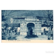 Postales: ALCEDA.(SANTANDER).- ENTRADA AL BALNEARIO.. Lote 171411312
