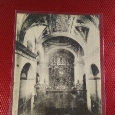 Postales: CALDAS DE BESAYA. INTERIOR DE LA IGLESIA. FOTOTIPIA HAUSER Y MENET.. Lote 171699989