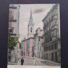 Postales: SANTANDER TORRE SAN IGNACIO ED. ROMMLER & JONAS. Lote 171770360