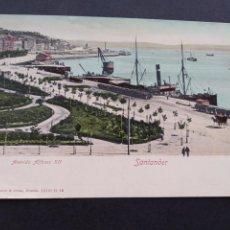 Postales: SANTANDER AVENIDA ALFONSO XII ED. ROMMLER & JONAS. Lote 171770527